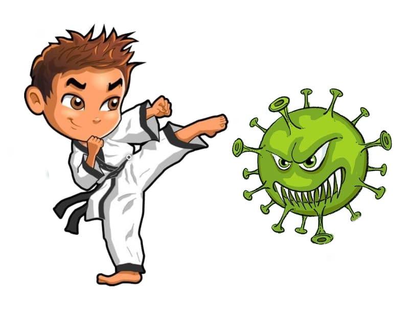 Karate Boy Vs CoronaVirus